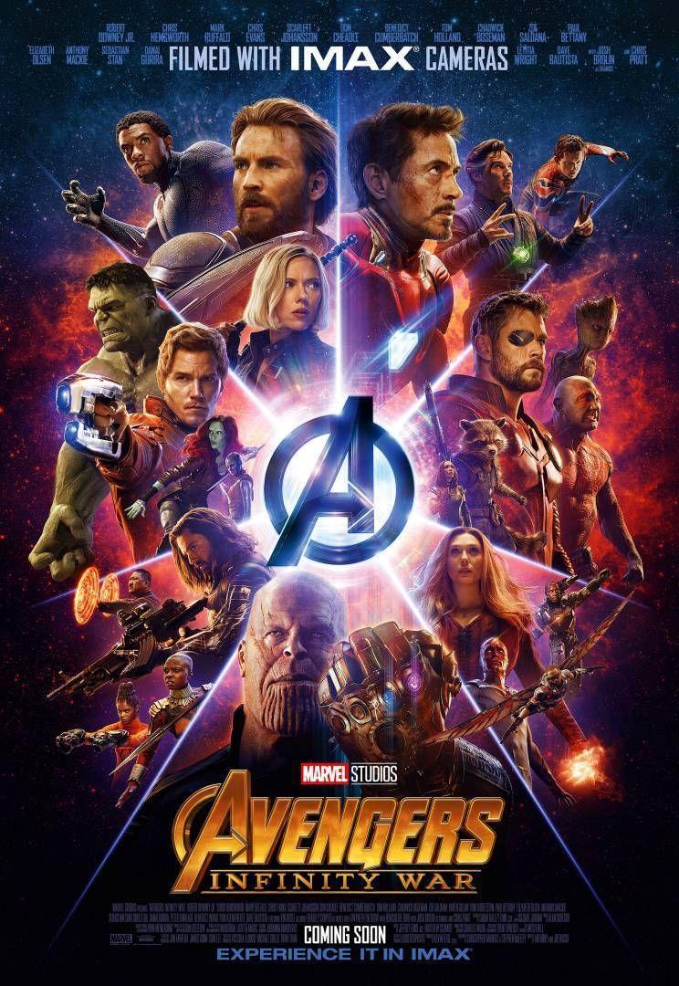 95 avengers infinity war movie poster imax print 13x20