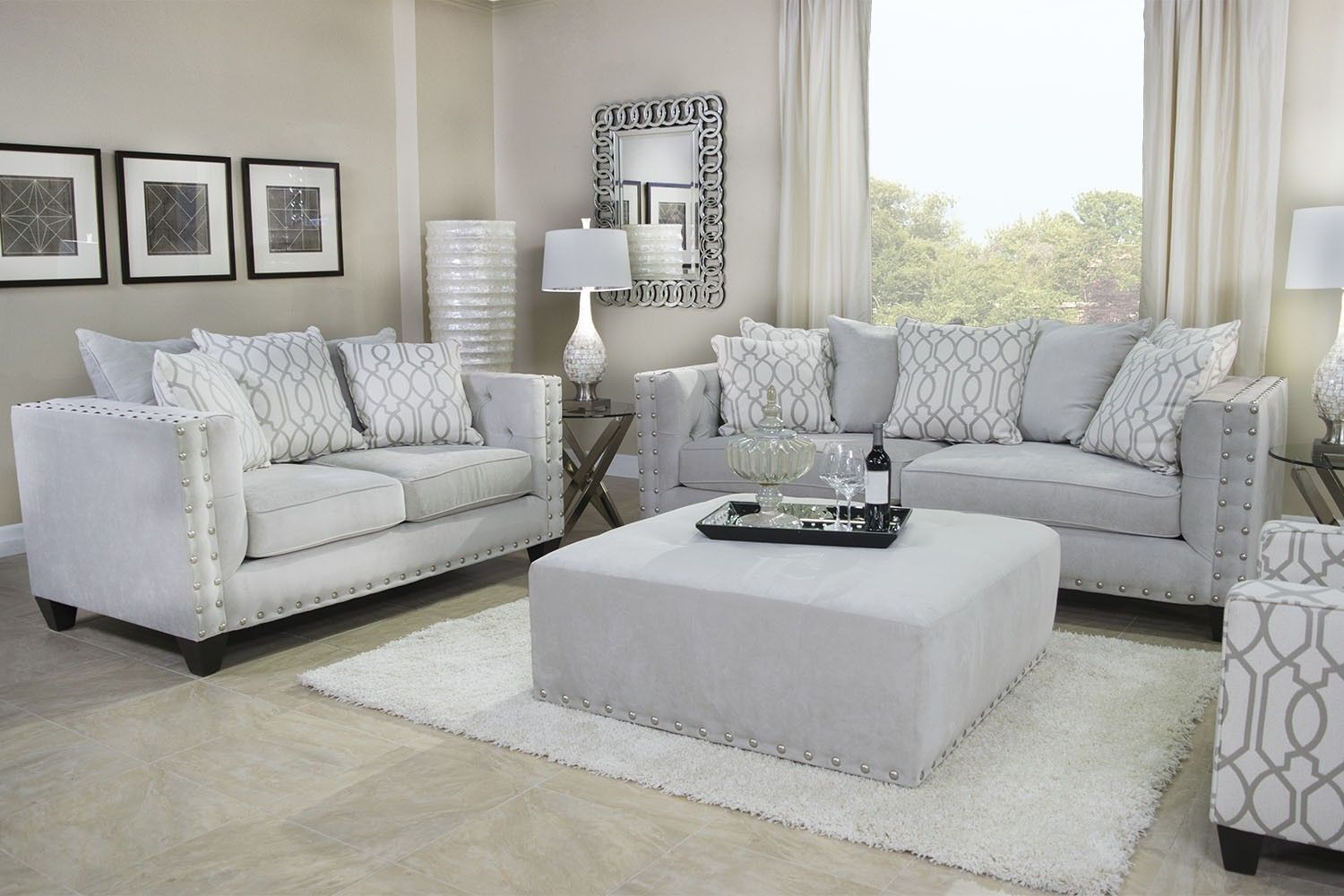 Mor Furniture For Less The Roxanne Living Room  Mor Furniture Fascinating Living Rooms Sets Decorating Inspiration