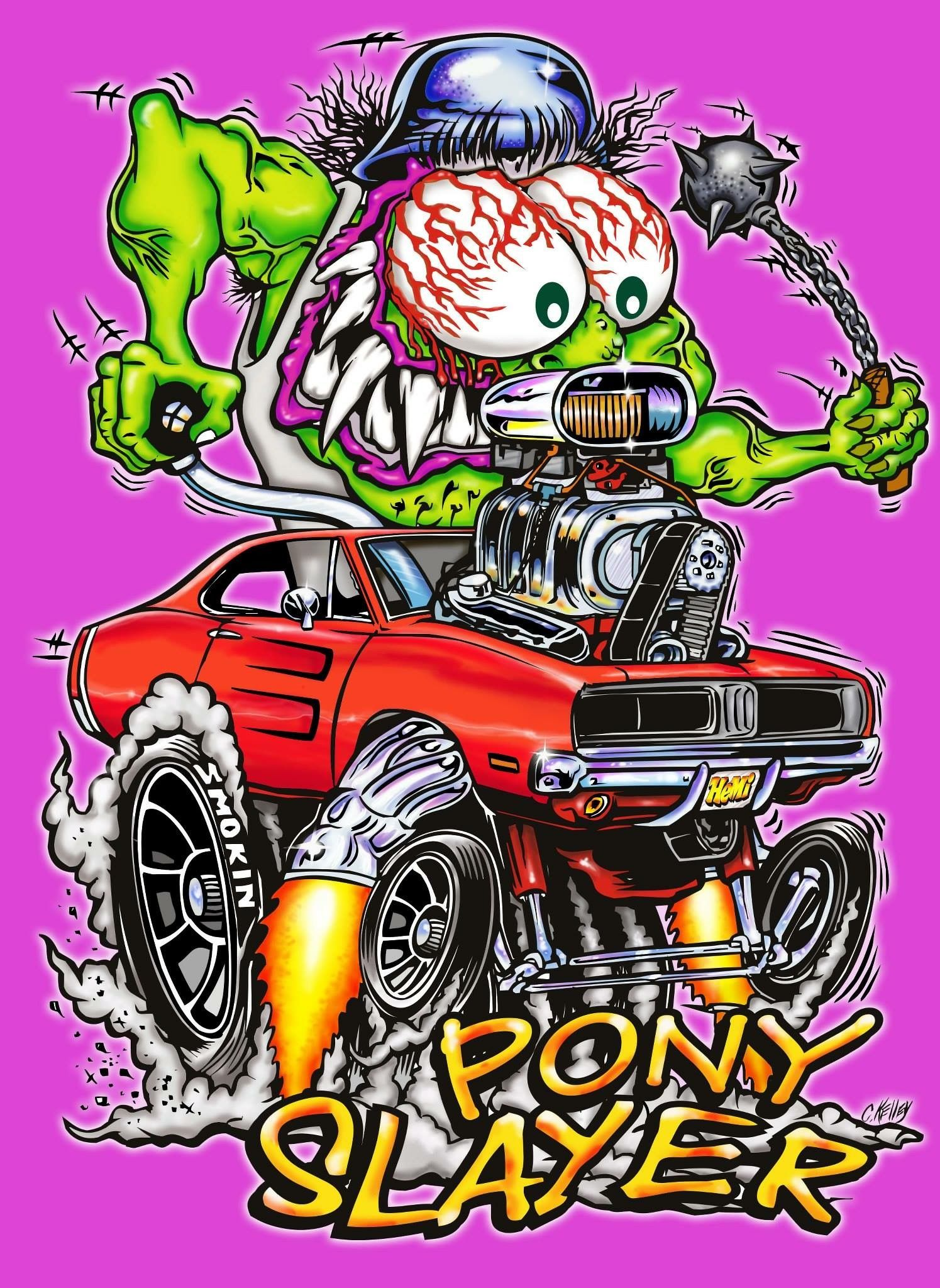Pin by mike jansen on Hot rod | Rat fink, Garage art ...