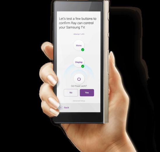 Hand ray 1x optimized 460 Power work, Samsung tvs