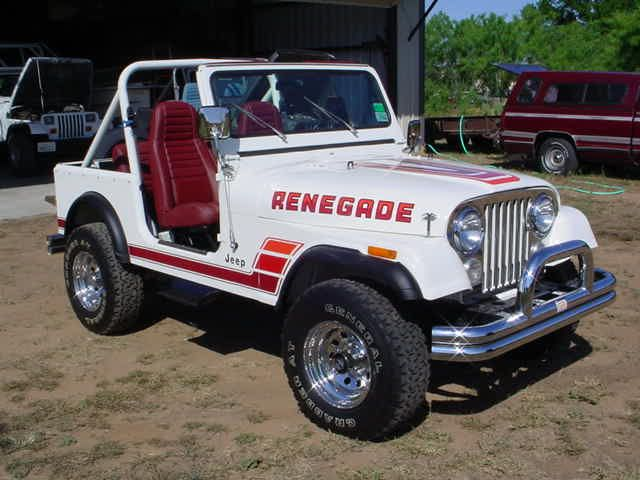 Cj Renegade Spotters Guide Jeep Renegade Jeep Cj7 Jeep
