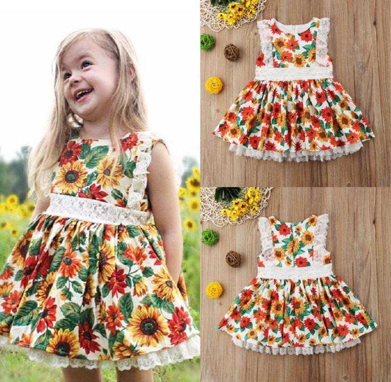 Wild Sunflowers Dress - 1-2 Years   Sunflower dress ...