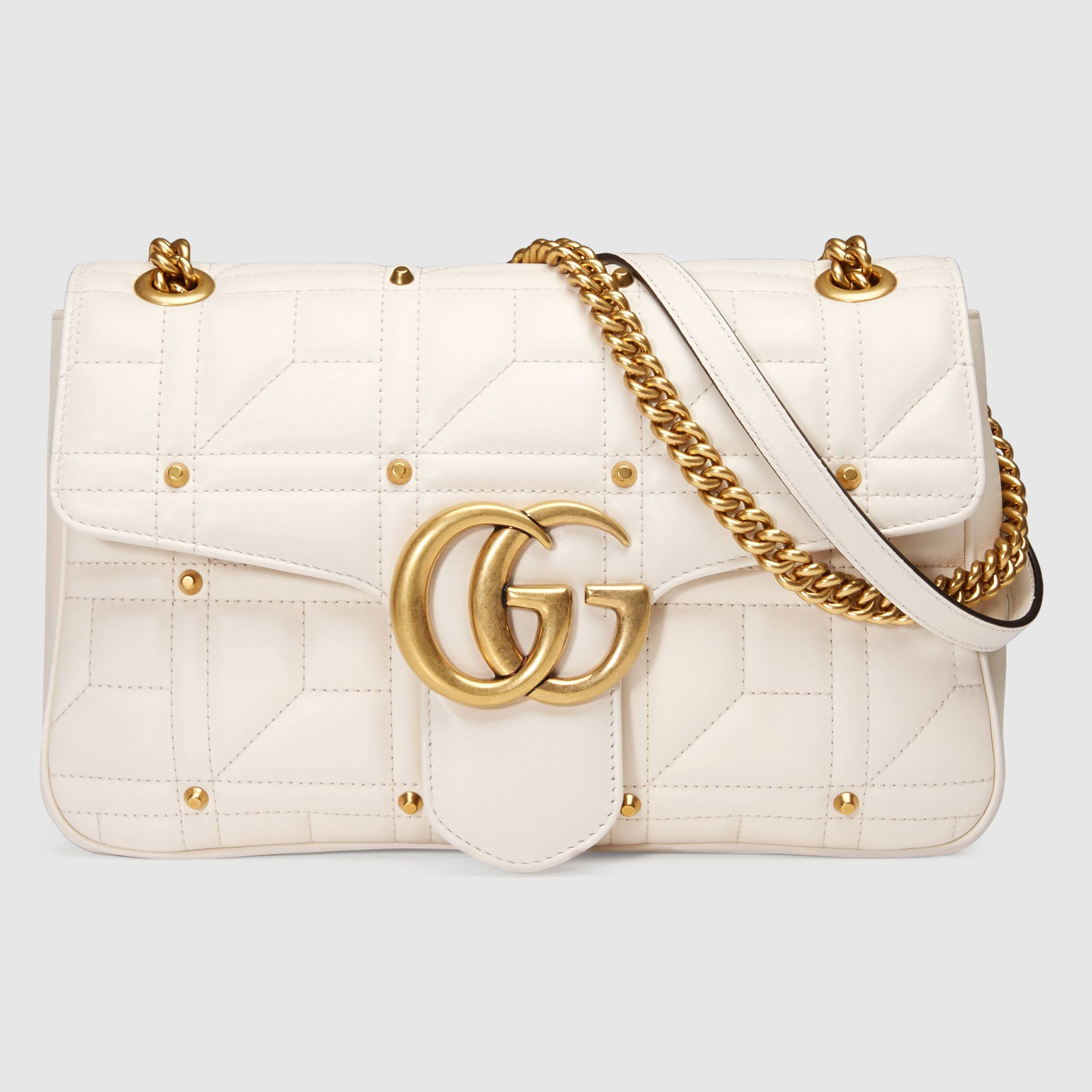 Gucci Women - GG Marmont matelassé shoulder bag - 443496DRWAT9022 ... 28fd07b95ae54