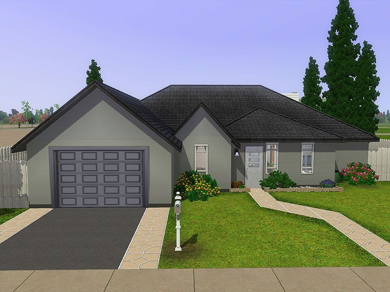 ModTheSims The Menzel Base Game only