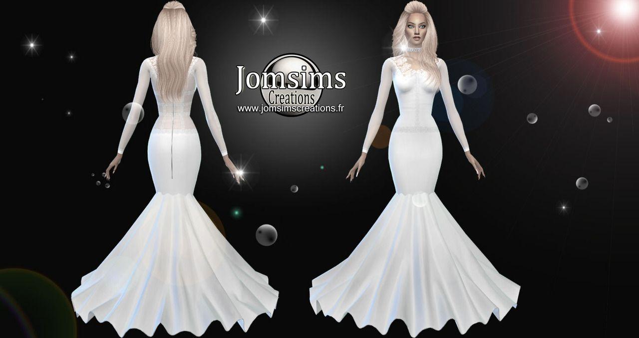 Sims 4 Wedding Dress Set   Lixnet AG