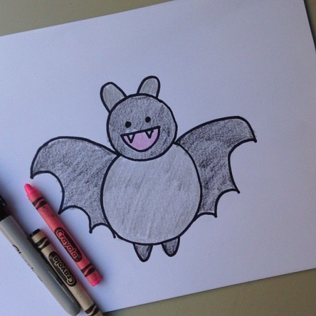Draw This Bat Watch This Quick Video To See How Draw Bat