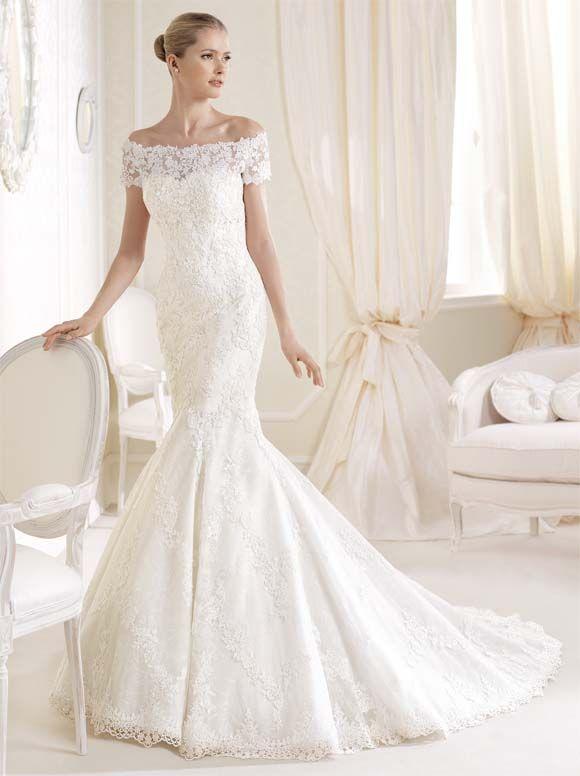 Vestido de novia según tu tipo de cuerpo   Trompetas, Vestidos de ...