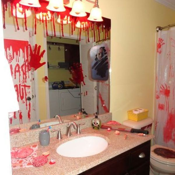Modern Home Theatre Ideas: 10 Modern Halloween Bathroom Decoration Ideas