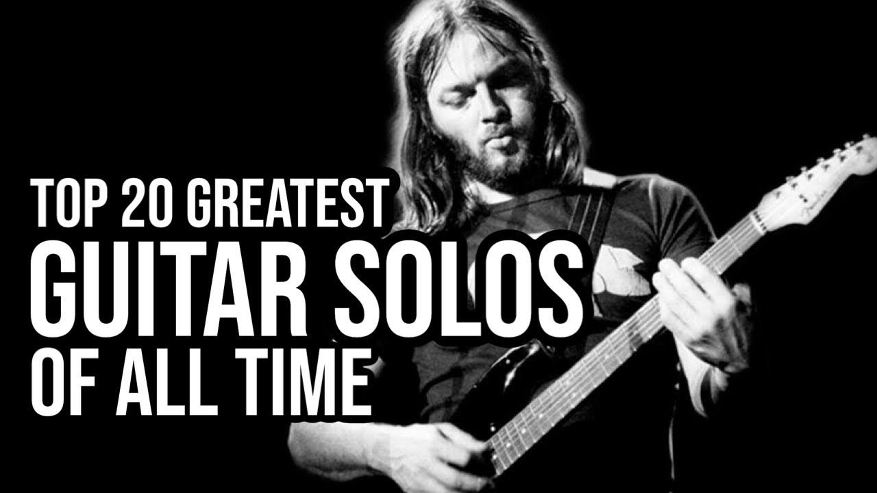 Top 20 Rock Guitar Solos Of All Time Guitar Solo Blues Guitar Lessons Easy Guitar Songs