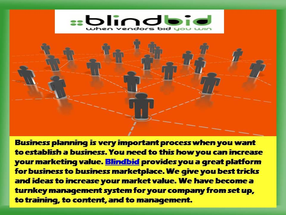 We give you a smart way to conduct your business online You can - Bid Format