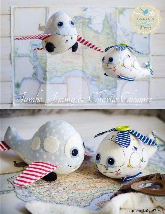 Moldes gratis para hacer aviones de tela para niños | bolsas ...