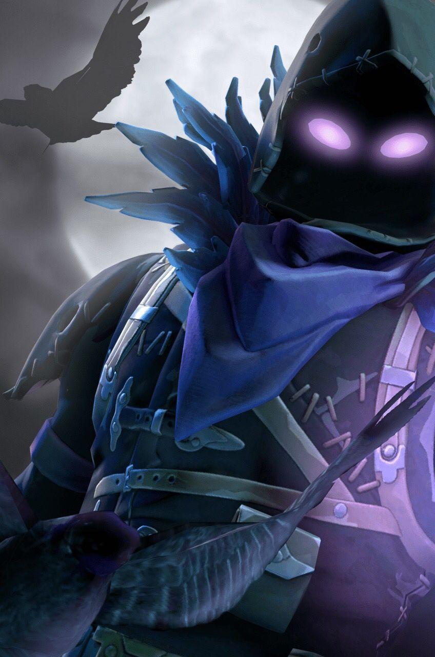 Fortnite Raven Background,FortniteRaven Gaming