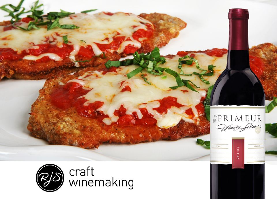 Veal parmigiana is much more savory with the firm tannins of your Italy Valpola from the En Primeur Winery Series. Find the recipe for this delicious dish here: