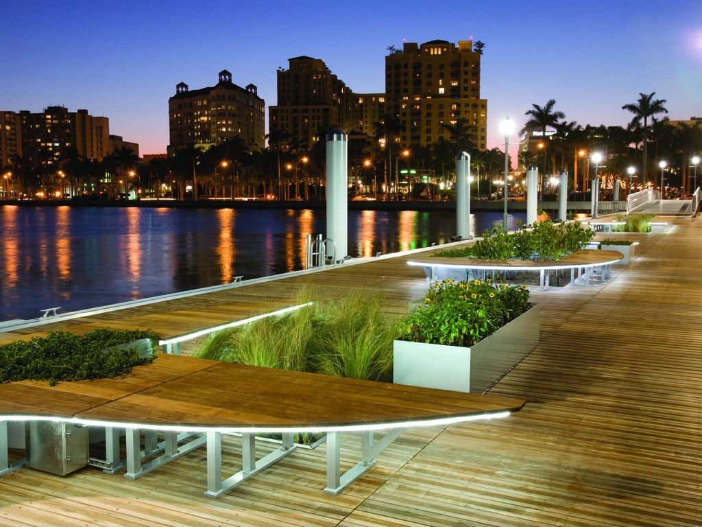 Downtown West Palm Beach Waterfront