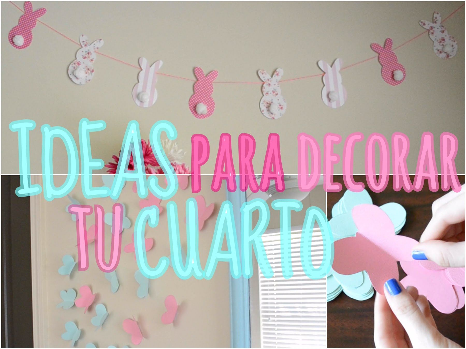 Ideas para decorar tu cuarto trillizas triplets for Cuarto de unicornio