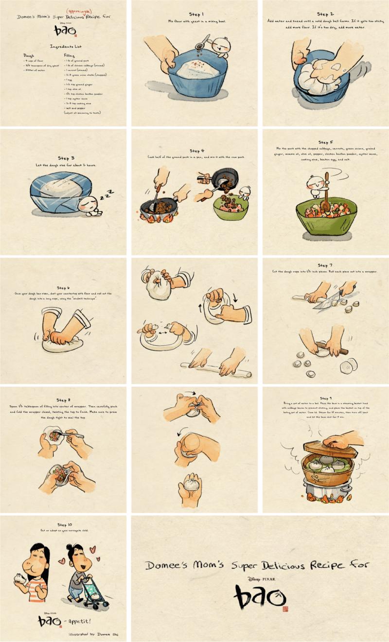How to Make Bao Chinese dumplings