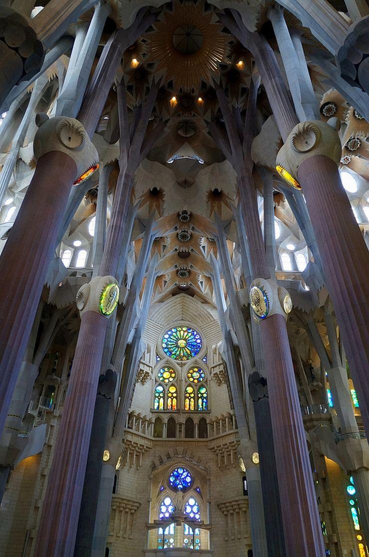 La Sagrada Familia, Antonio Gaudi Barcelona, España