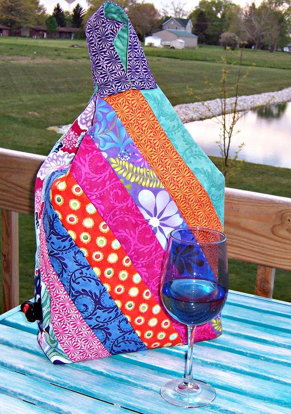 Wine Box Quilted Cover Pattern