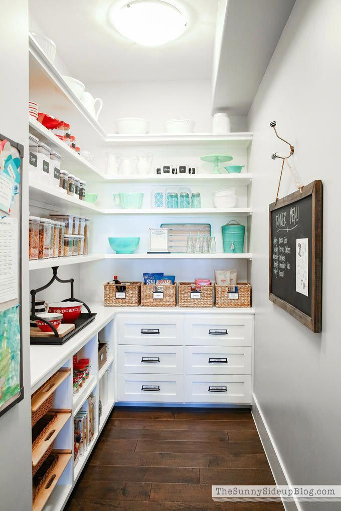 My Organized Pantry! - The Sunny Side Up Blog