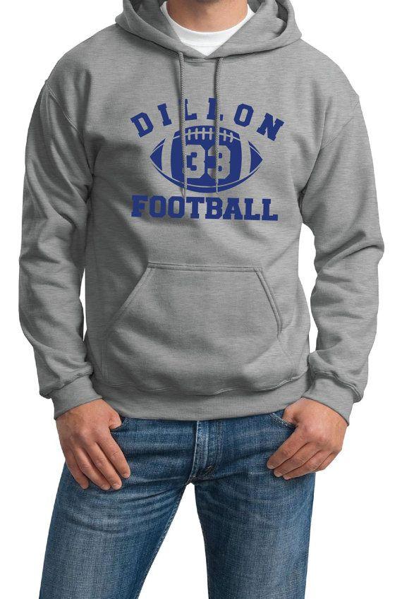 cd977291 Dillon Panther Football Hoodie - Unisex S M L XL Sweatshirt Sweater ...