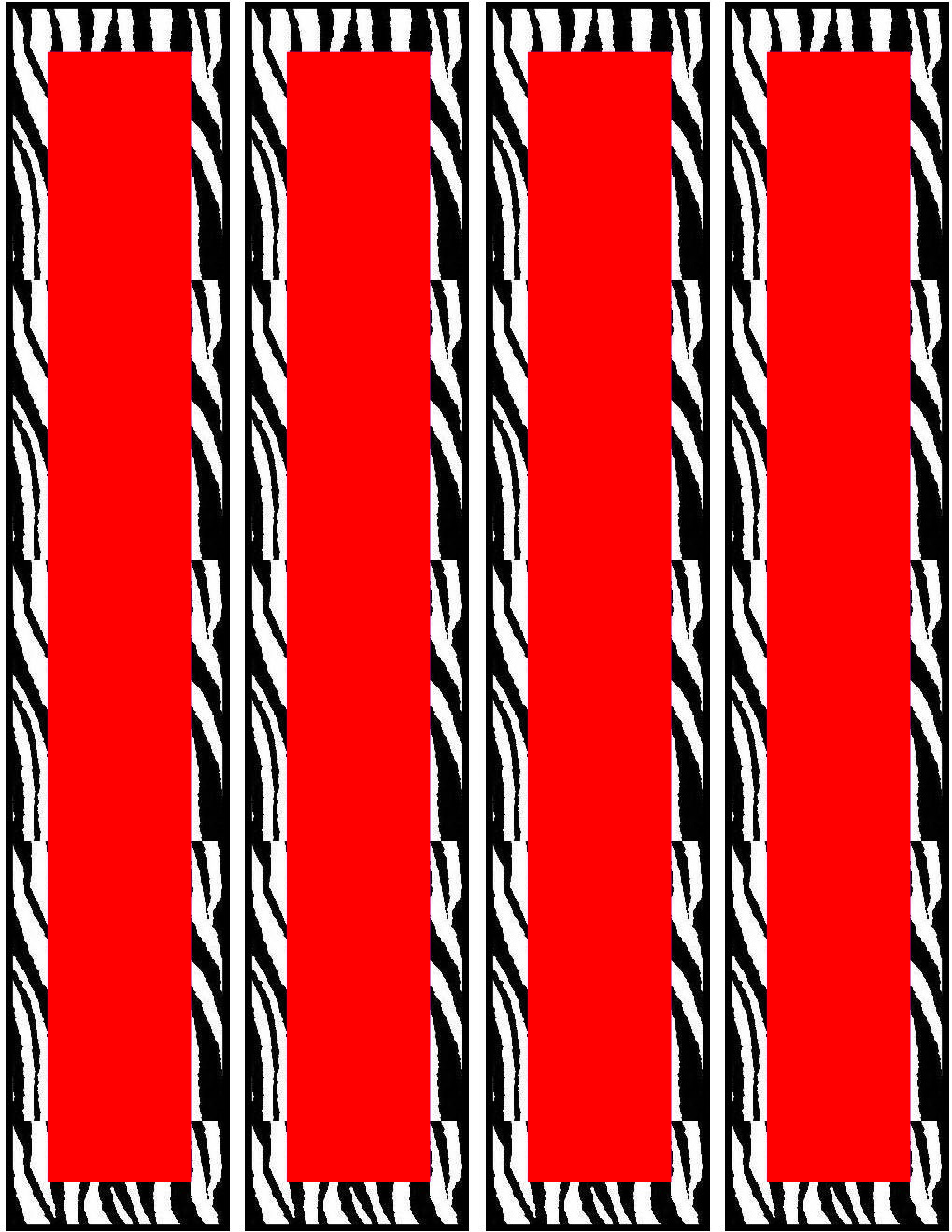 Free Red Zebra Birthday Party Printables-- Water Bottle | Water ...