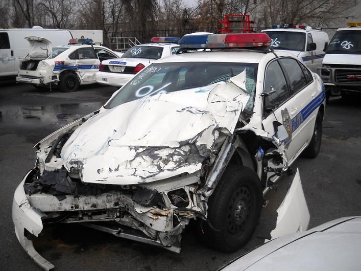 Wrecked Car Wrecked Baltimore Police Car With Images Police
