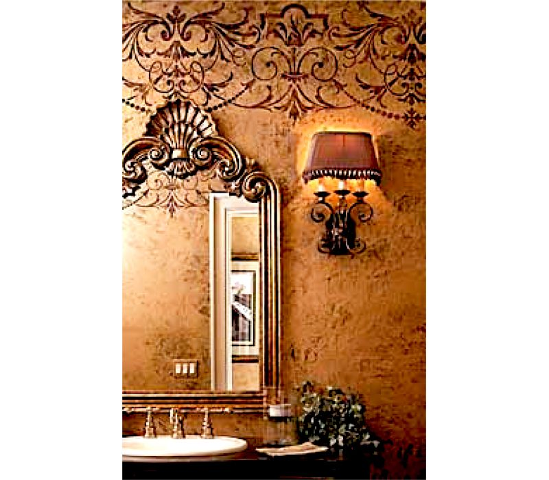 Danielle Circa 1918 Vintage Old Victorian Allover Wall Border Stencil Sold By Boss Shop More Products From On Storenvy