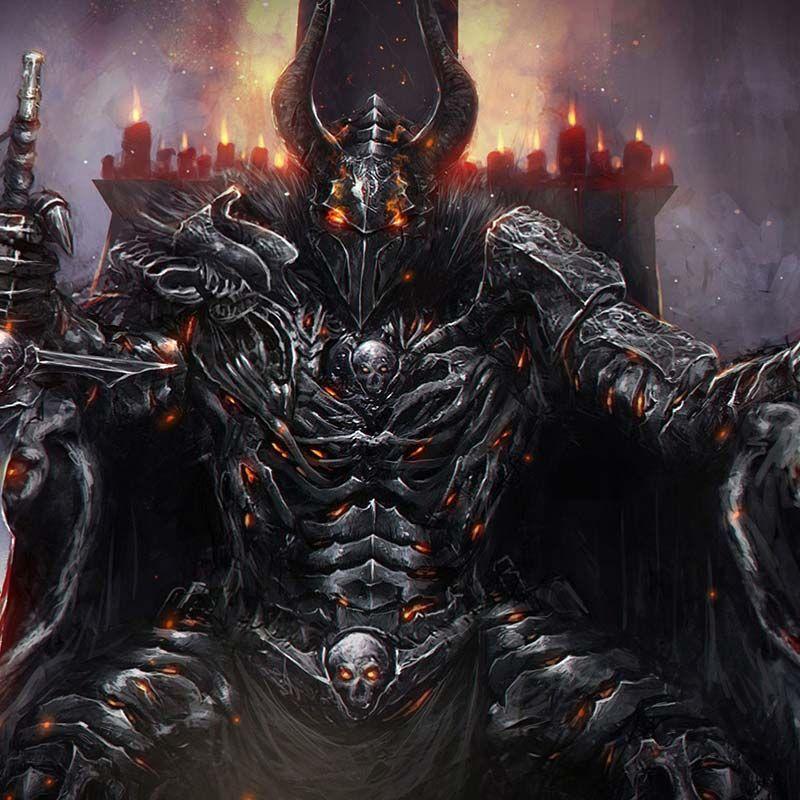 Demon Lord Wallpaper Engine Knight art, Art, Gothic