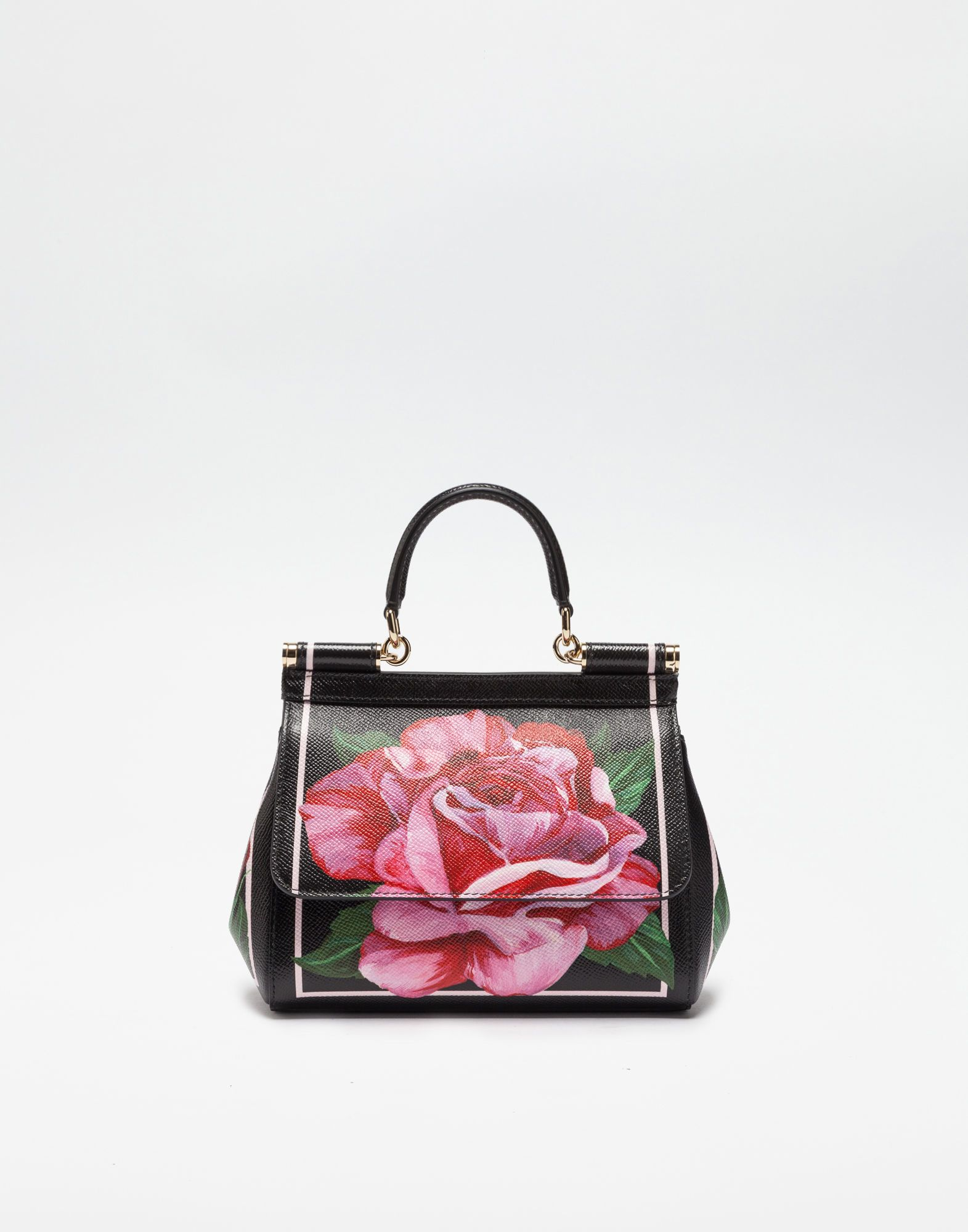 e9bb85a1d0 SMALL SICILY BAG IN PRINTED DAUPHINE LEATHER