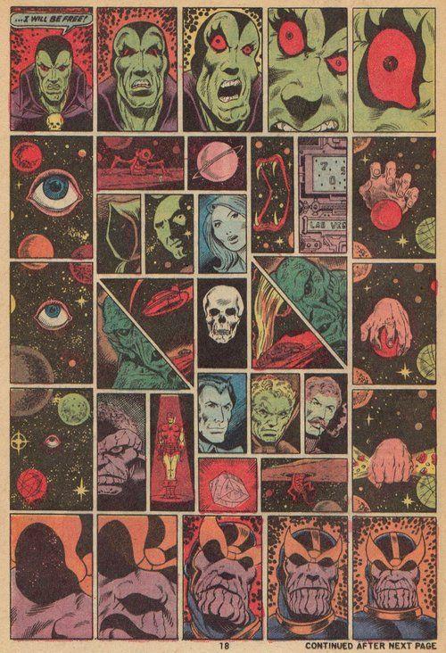 Captain Marvel #28 (Jim Starlin, 1973)