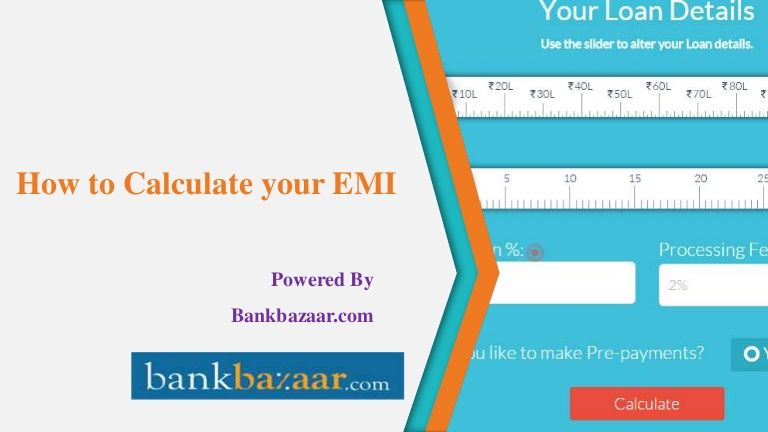 How To Calculate Your Loan Emi By Using Onlineemicalculator Financial News Personal Loans Financial Information