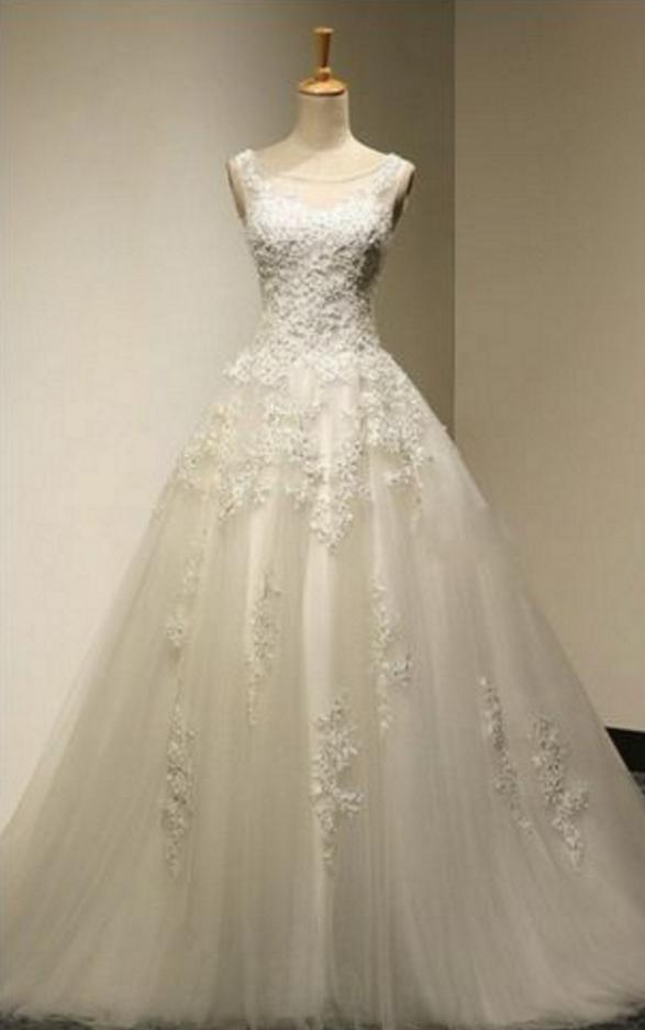 Wedding Dress, Wedding Dresses,Vintage Wedding Dresses, Ball ...