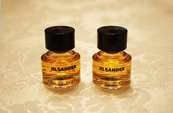 Jil Sander No 4 Eau De Parfum Classic Perfumes Vintage Perfumes Perfume Minis Perfume Miniatures Vintage Fragranc Vintage Perfume Classic Perfumes Perfume