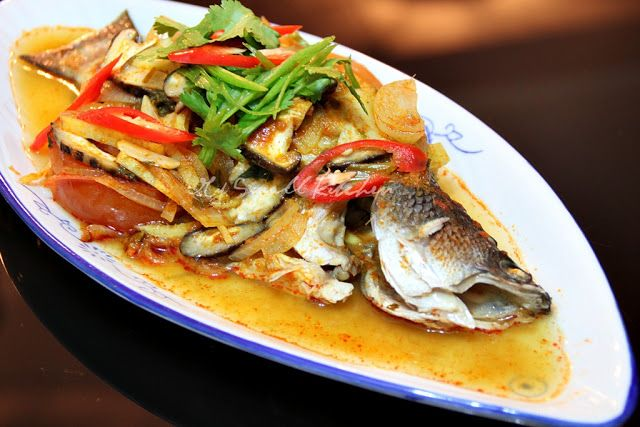 My Small Kitchen Steam Assam Fish Malaysian Food Cooking Food
