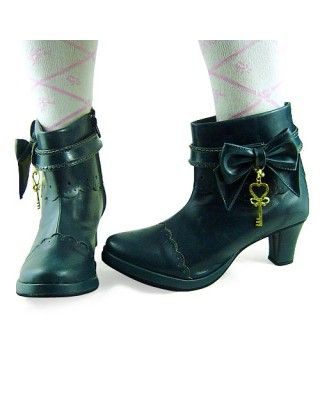 Coffee Ankle Length Short Girls Boots #lolita  #boots