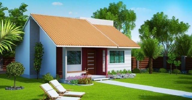 El estupendo diseño de la casa tiene un estilo moderno contemporáneo, es una vivienda familiar pequeña pero acogedora que mide 62 m2, c...