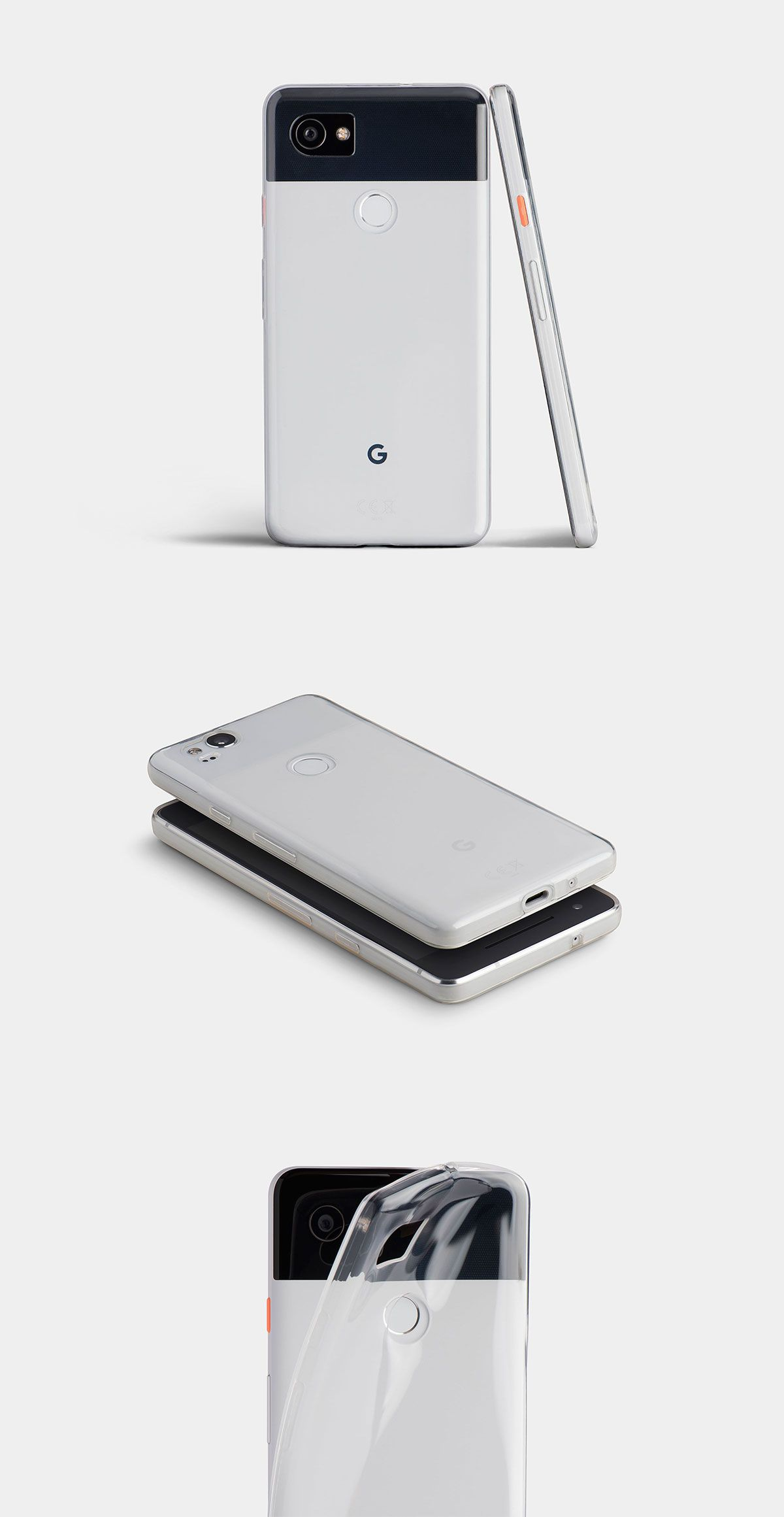 free shipping b391f 9bb83 New Transparent Clear Cases for the Google Pixel 2 and 2XL in 2019 ...
