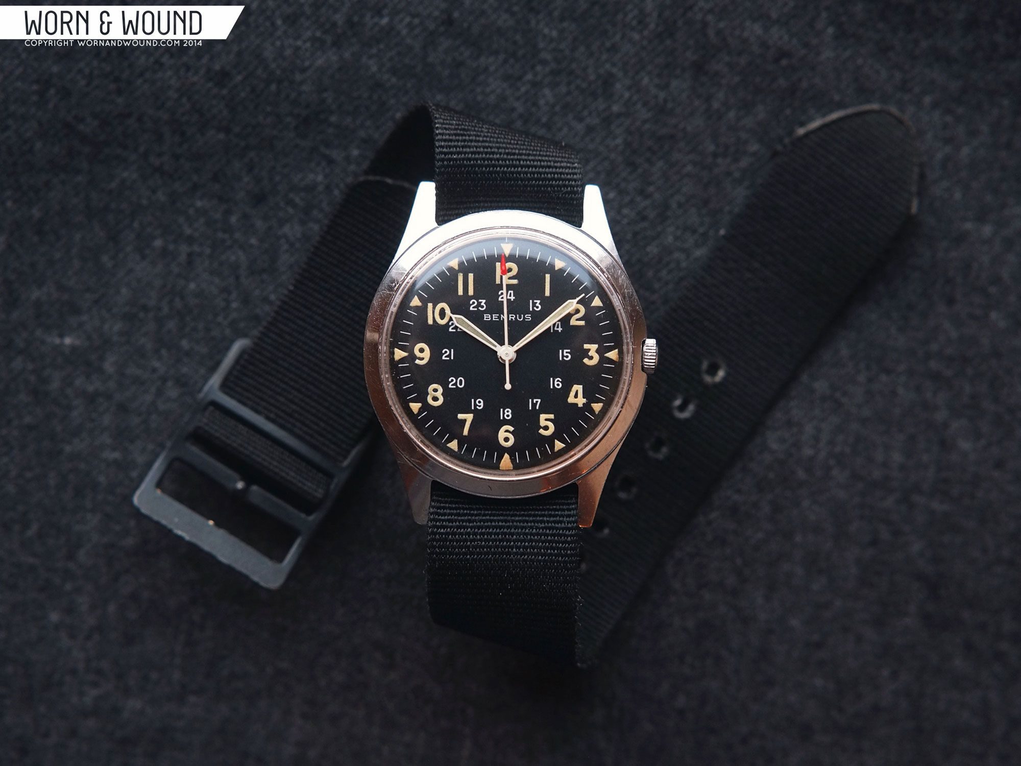 From the archives mcqueen to mil spec the benrus bullitt and the type i ii the awristocrat for Mcqueen watches
