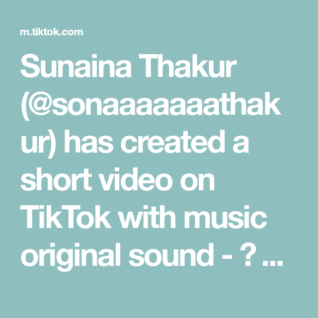 Sunaina Thakur Sonaaaaaaathakur Has Created A Short Video On Tiktok With Music Original Sound Abhay Tag Y Mom And Dad Quotes Dad Quotes Mom And Dad
