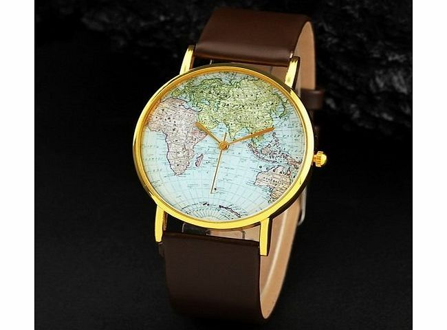 Menu life 2013 new styles 5 colors leather watches with world map menu life 2013 new styles 5 colors leather watches with world map watch unisex watches wristwatch gumiabroncs Gallery