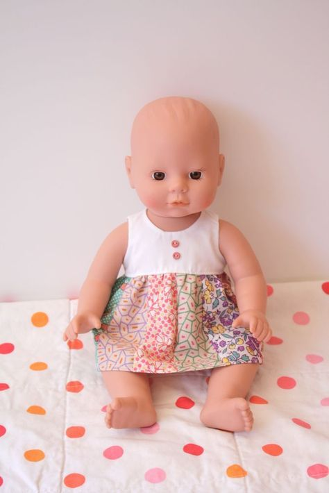 Baby Doll Clothes Free Patterns | Doll clothes | Pinterest | Baby ...