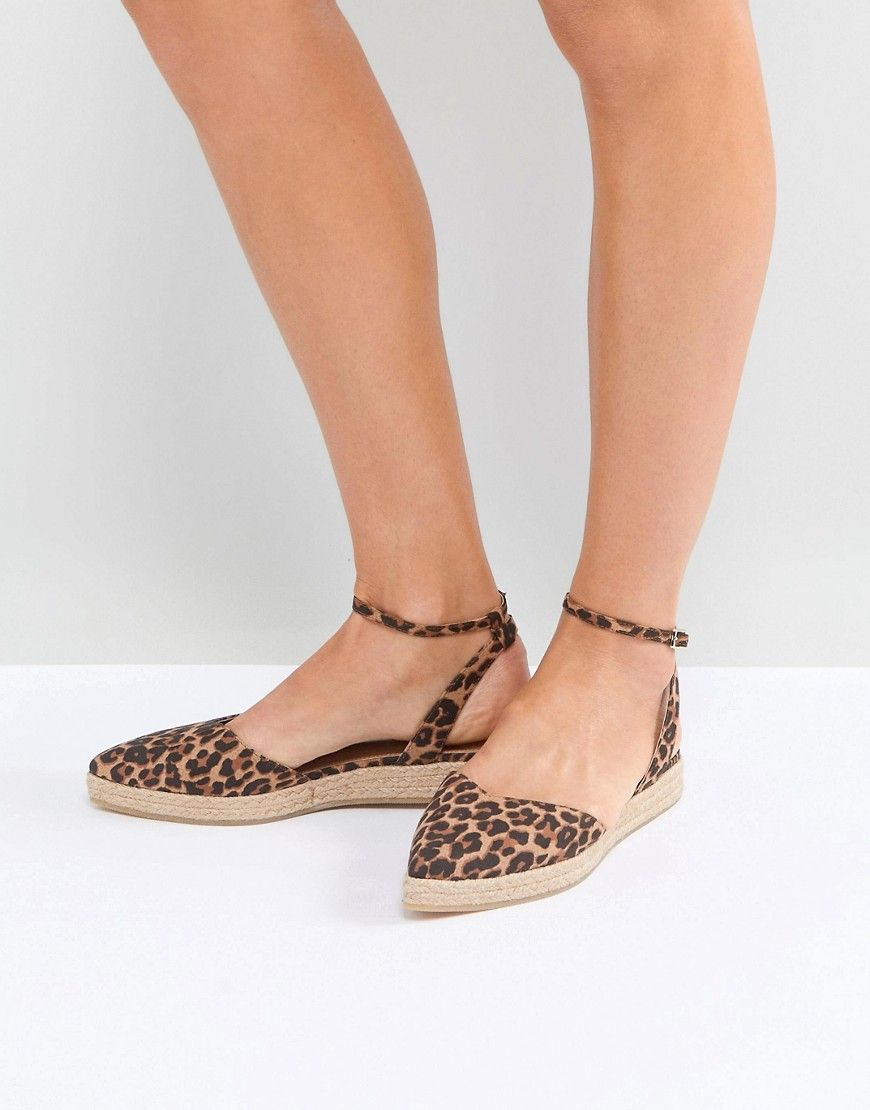 bff8d7109 ASOS JASLEEN Point Espadrilles - Multi