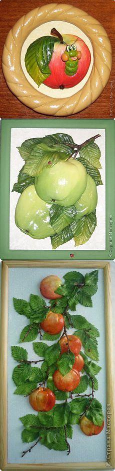 Лепим яблоки из теста | Farfor Krakelur