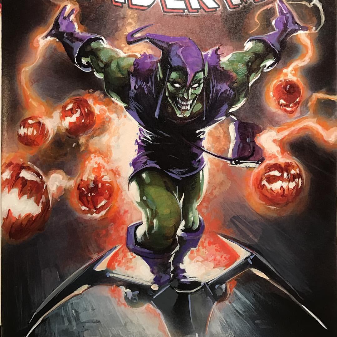 House of m green goblin - Green Goblin By Clayton Crain
