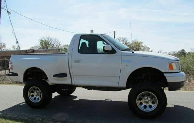 Ford Single Cab 97 03 Ford F150 Xl Lifted Truck Ford F150