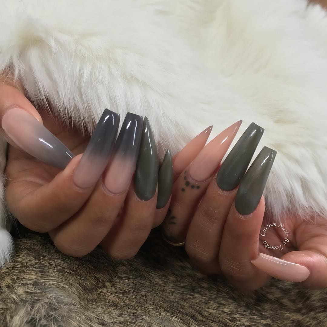 """5,851 Likes, 56 Comments - 💅🏽Vanessa Gisselle Colon (@vanessa_nailz) on Instagram: """"Yesss come thru 🙌🏼@customtnails1 is giving me life with these inspired by me ! Her twist tho got me…"""""""