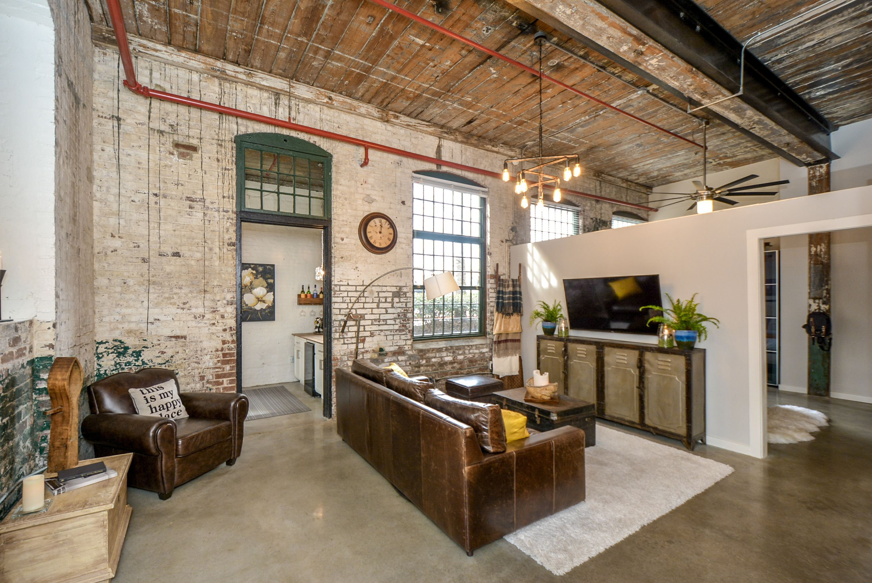 JUST LISTED Loft Condo in Historic Fulton Cotton Mill