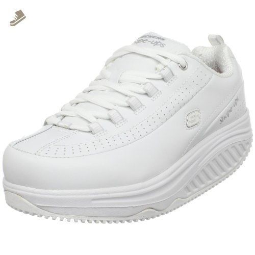 e17a423ccd4 Skechers for Work Women s Shape Ups Slip Resistant Sneaker