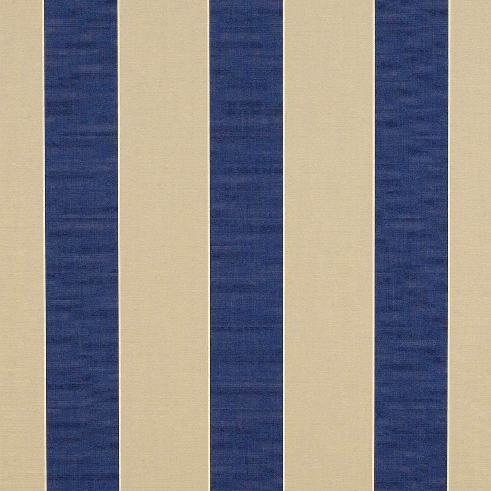 Sunbrella Canvas Block Stripe Mediterranean 4921-0000 46