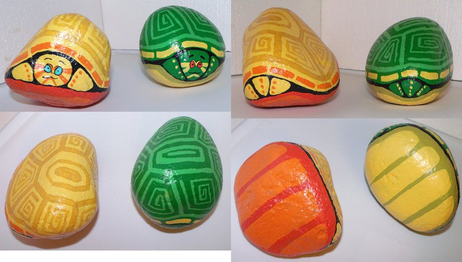 painted rocks houses - Google Search